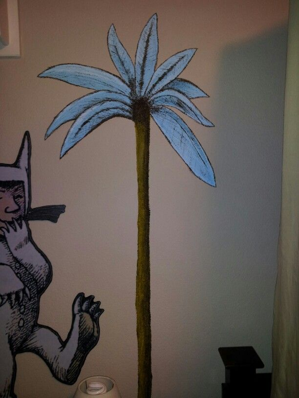 Where the Wild Things Are wall mural painting Where the Wild