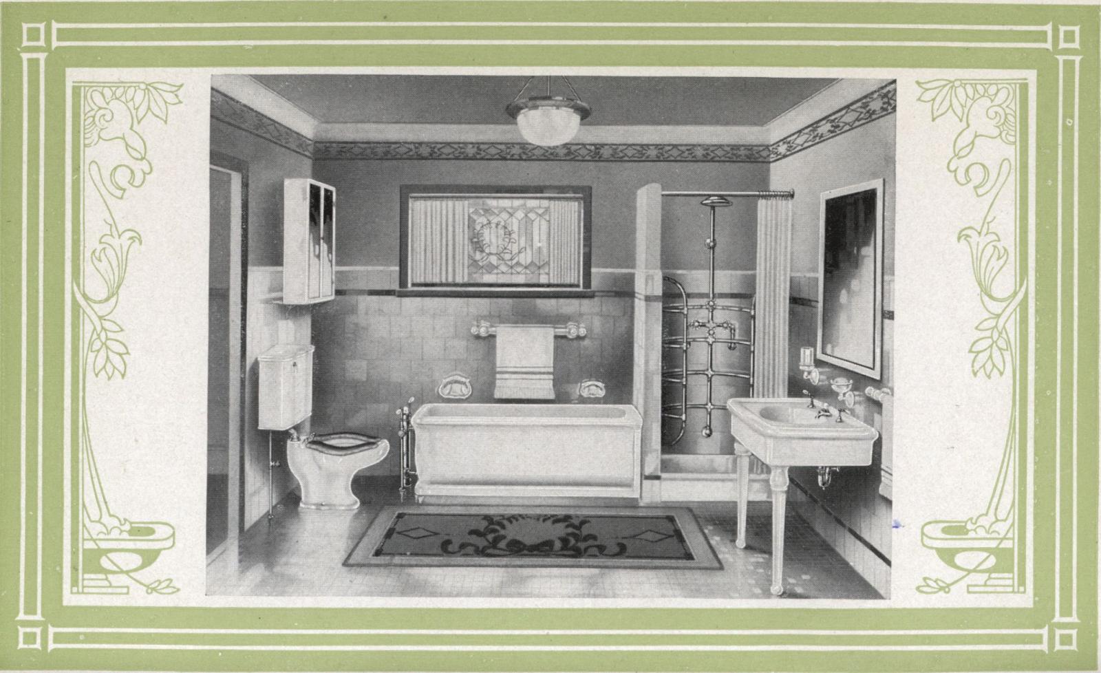 Laurelhurst Craftsman Bungalow Trenton 1922 Bathroom