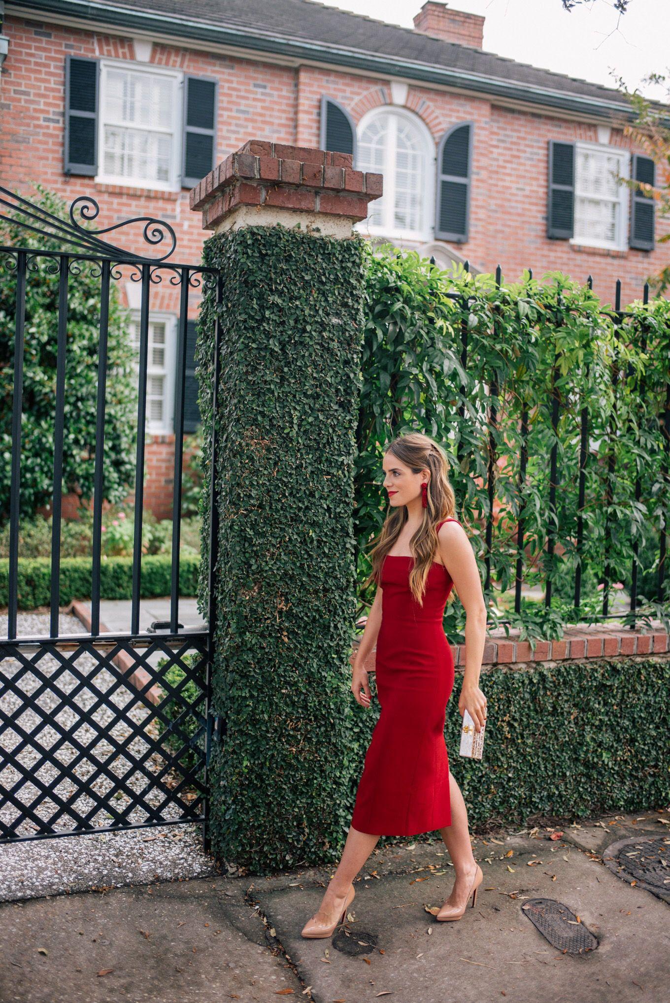 e5e9c3ab0ac Gal Meets Glam The Red Dress - Cinq A Sept dress
