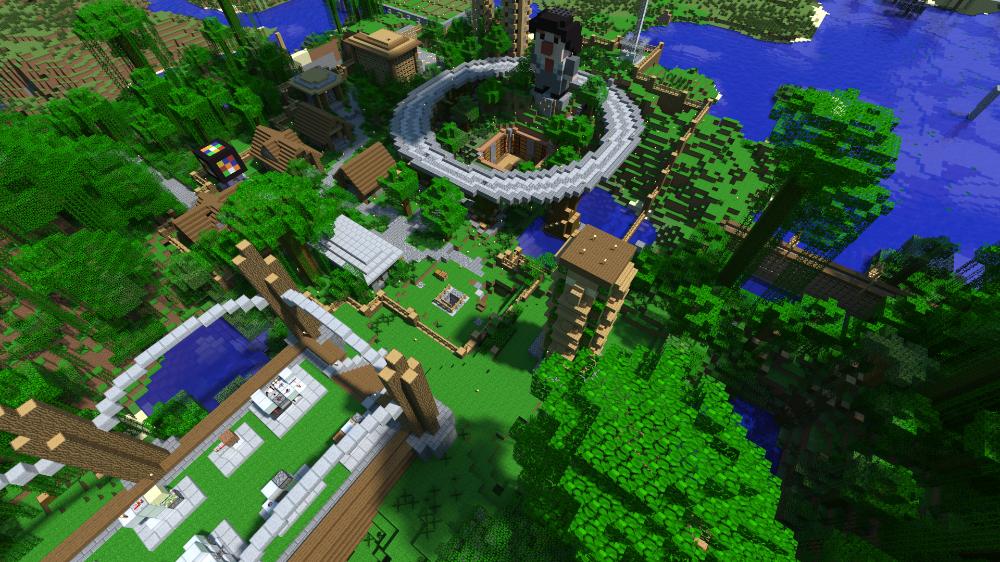 Mumbo Jumbo S Jungle Base By Ericmpetroff On Deviantart Minecraft Jungle House Jungle Jungle House