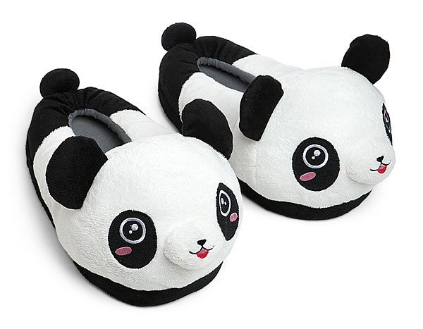 1d501496b5c Along with the other thing I asked for for Christmas. My list grows... But  they re PANDAS!!! If I can t have the killer bunny slippers