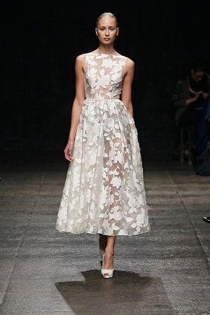Photo Via Tea Length Wedding Dress Wedding Dresses Tea Length