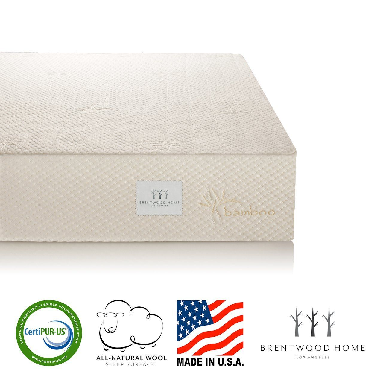 Special Offer What Are The Features Of Bwood Home Bamboo Gel 10 Memory Foam Mattress Made In Usa Rv Thick With Infused Hd Memo