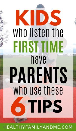 Parenting Tips for Kids who won't Listen