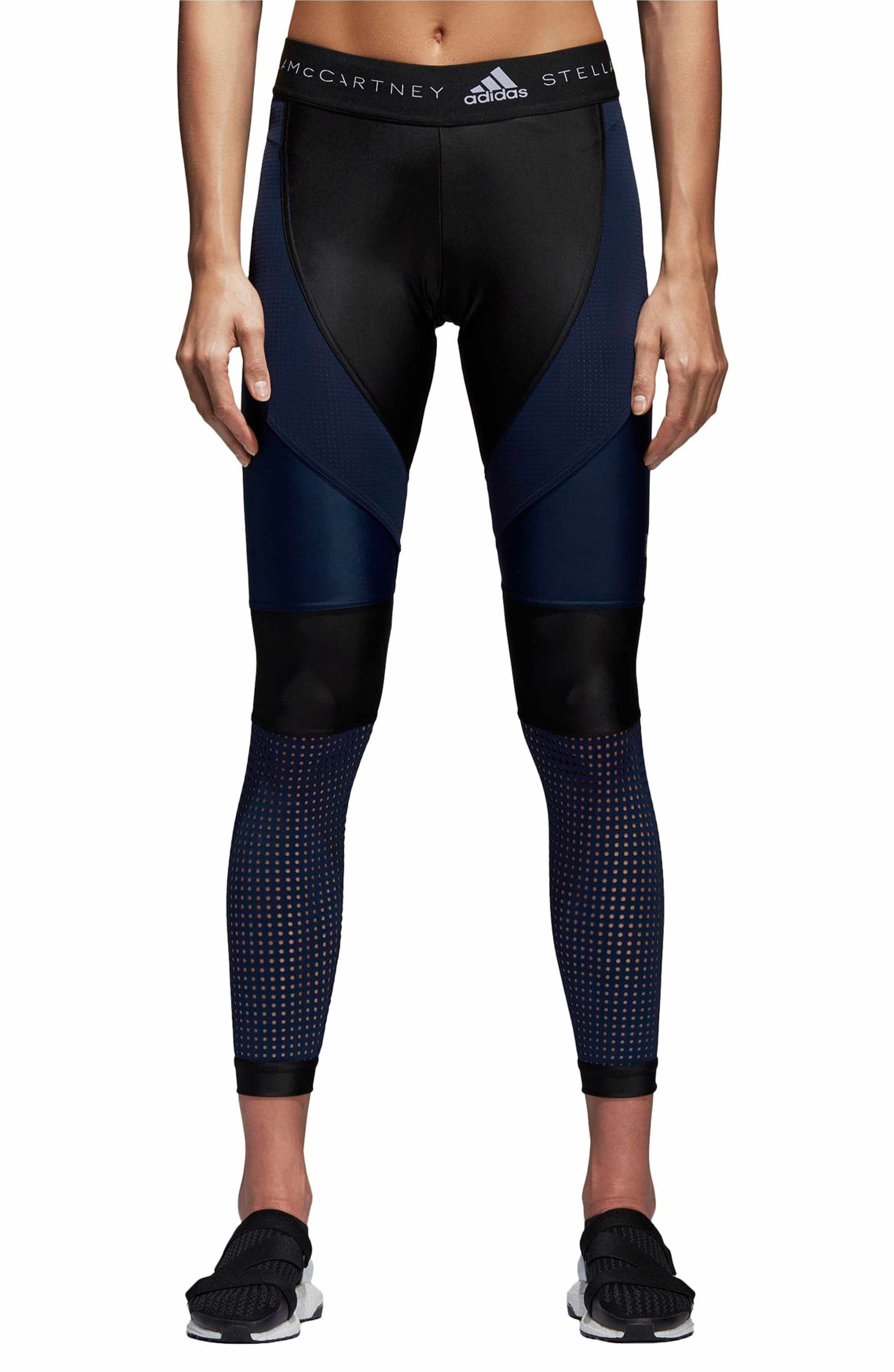 44c83557294 Main Image - adidas by Stella McCartney Run Crop Climalite® Tights ...