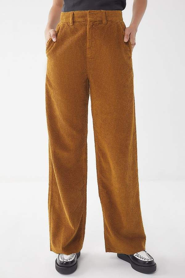 3e5f0c78fdc29c UO Corduroy Extreme Wide Leg Trouser Pant | women in wide wale ...