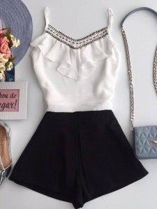 6be8f80da Compre Shorts - Moda Feminina na loja Estação Store com o menor preço e  ande sempre na moda.