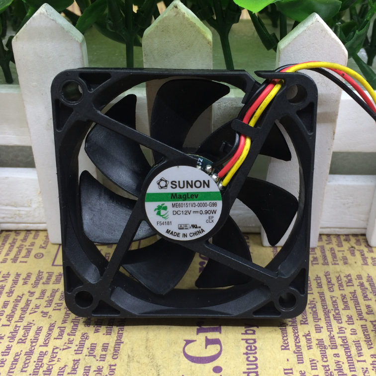 1PC fan for Y.S.TECH FD1260107B-2R DC12V 1.68W