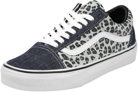 vans leopardo gris