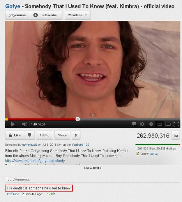 The 25 Funniest Youtube Comments Of The Year Funny Youtube Comments Youtube Comments Funny Comments