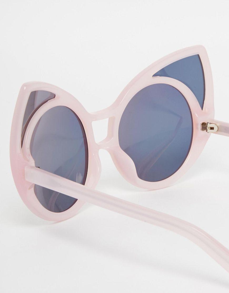 cat ear sunglasses // linda farrow