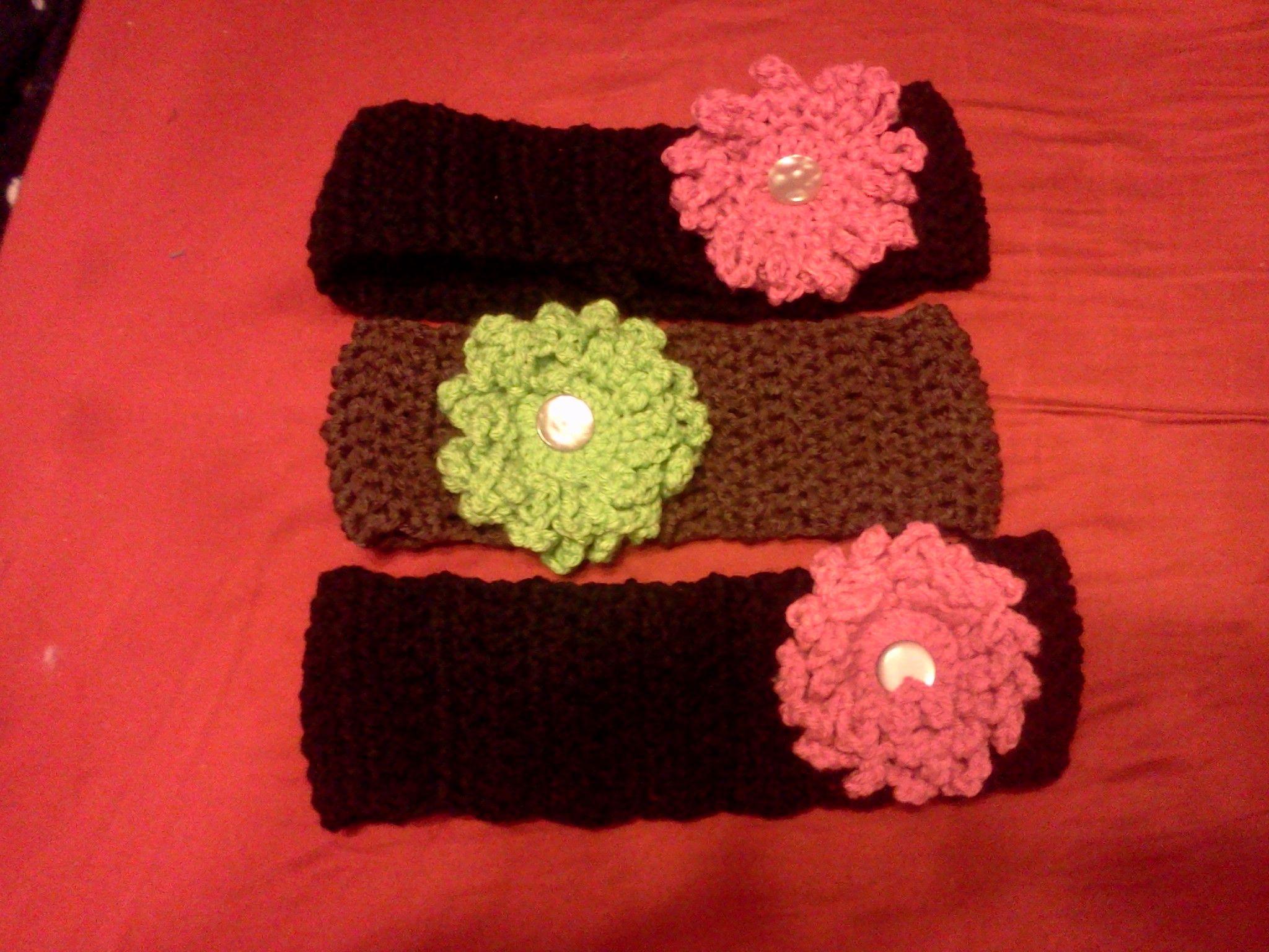 Head warmers my Crochet items Pinterest