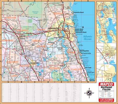Map Northeast Florida.Maps Of Marion County Florida Northeast Florida Wall Map