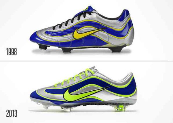Nike Celebrates 15 Years Of Mercurial w/ Recreated '98 Ronaldo El Fenomeno  Boots