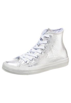 CHUCK TAYLOR ALL STAR HIGH - Sneaker high - silver/white