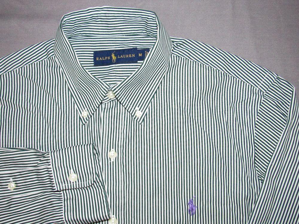 53b3e6ae8 Men s Polo Ralph Lauren Long Sleeved Pin Striped Button Up Shirt Medium   fashion  clothing  shoes  accessories  mensclothing  shirts (ebay link)