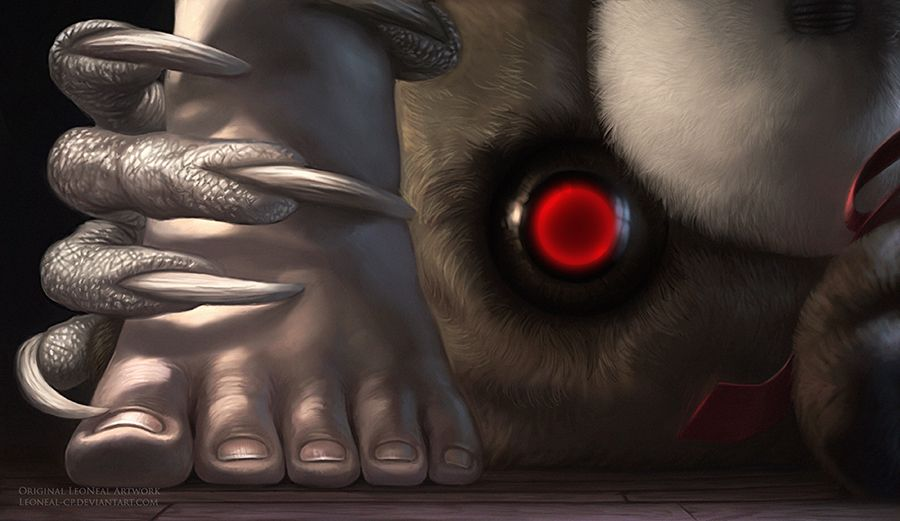 Bed Time Horrors by LeoNeal-CP