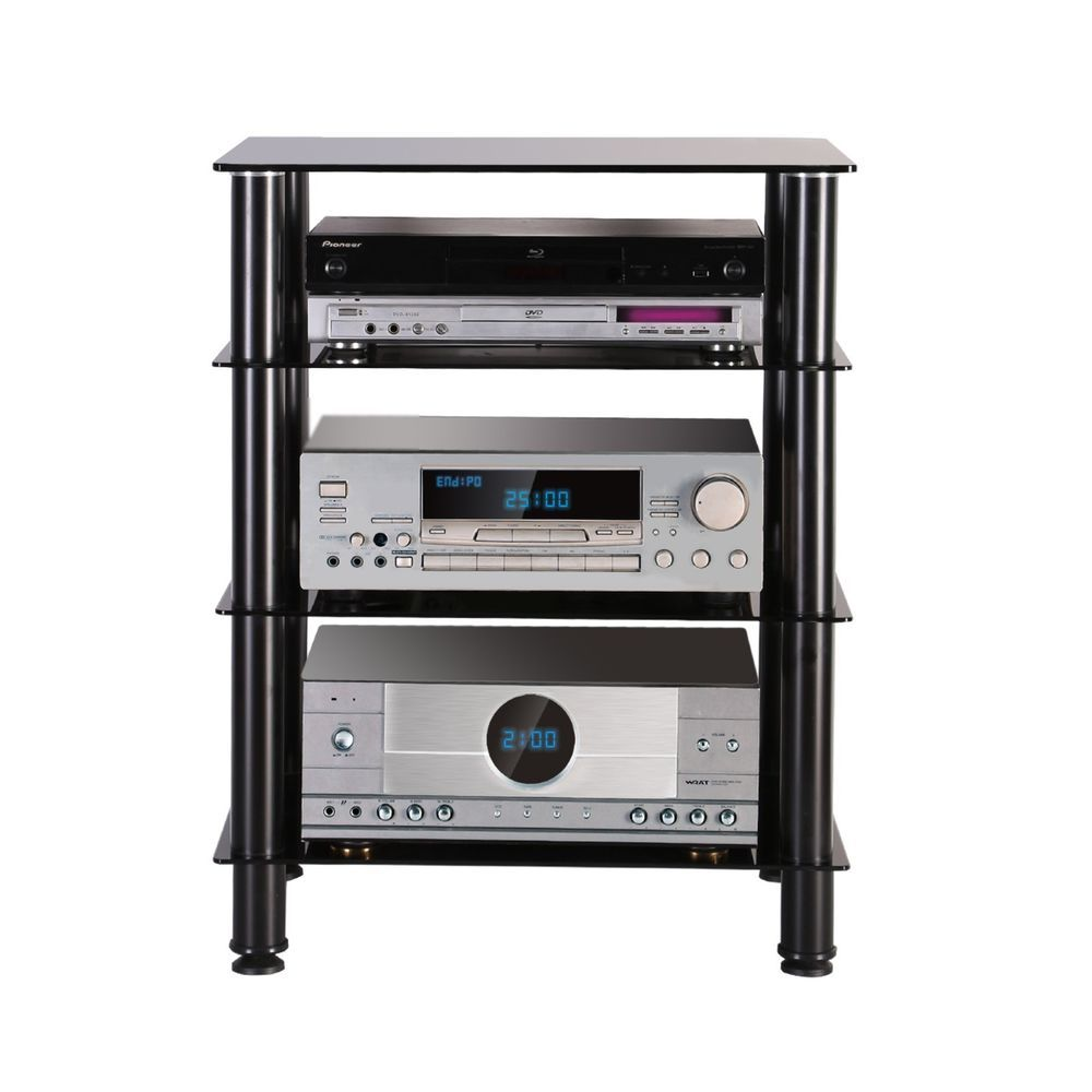 Furniture For Tv Components: Fitueyes TV & AV Furniture Audio Stand Component Shelf For