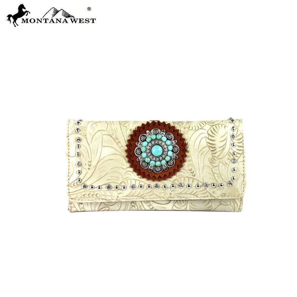 Montana West Concho Collection Wallet – Handbag-Addict.com