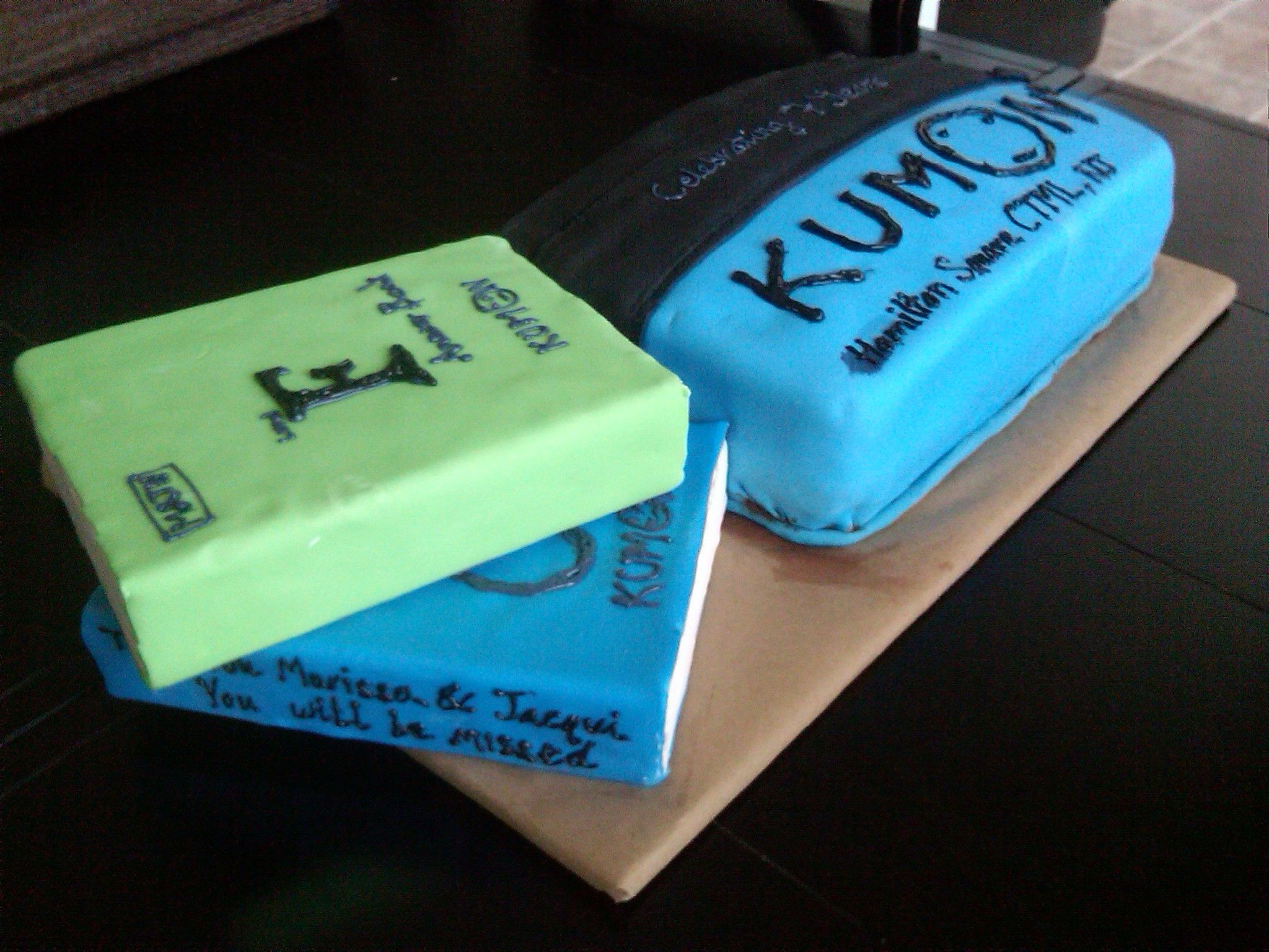 Kumon Cake- we are SOO making this so i can take it to work :D ...