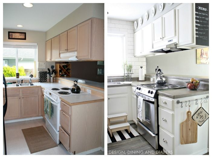 Small Kitchen Remodel With A Modern Farmhouse Style  Modern Amazing Design Kitchen Cabinets For Small Kitchen Inspiration