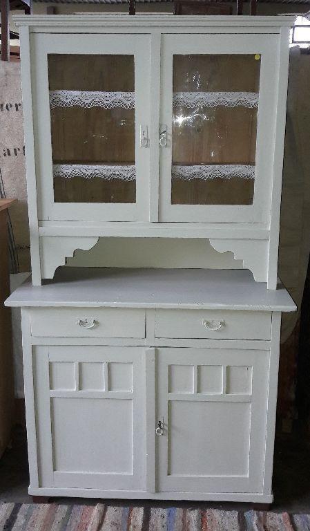 Traumschöne antike Anrichte Buffet Küchenbuffet~1920 wohnfertig - küchenschrank mit glastüren