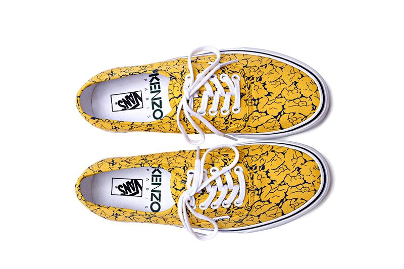 f7e6e743db5c09 Kenzo x Vans Authentic  Floral Patterns  Sneaker Pack - Highsnobiety