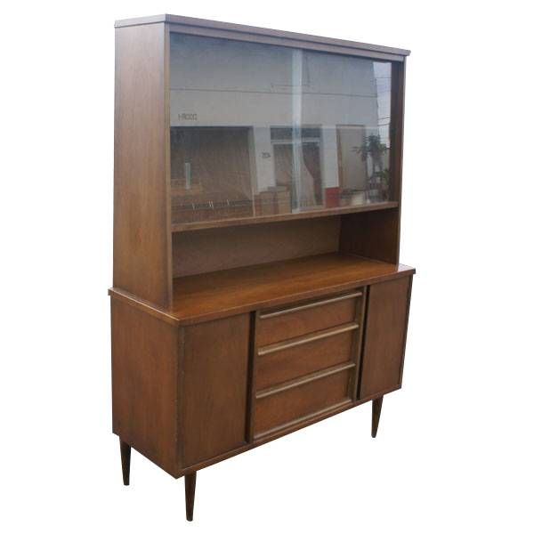 Bassett Mid Century China Hutch Lovely