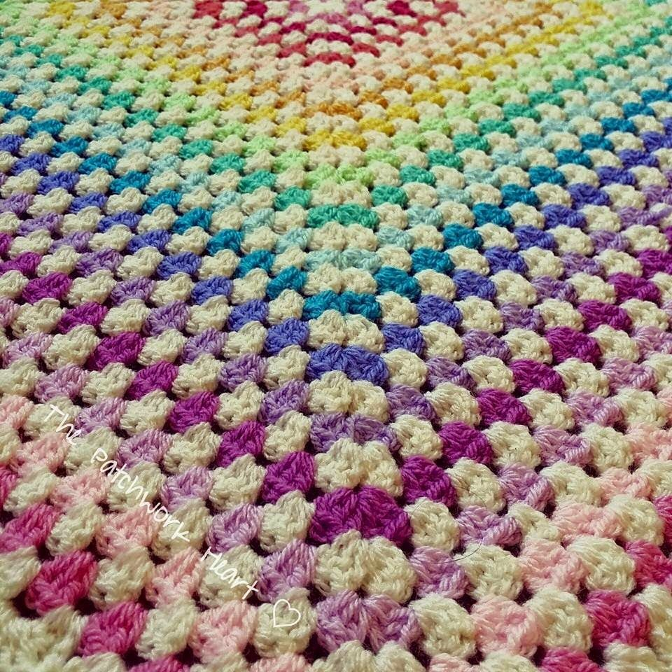 The Patchwork Heart: Granny Square Tutorial and links to more ...