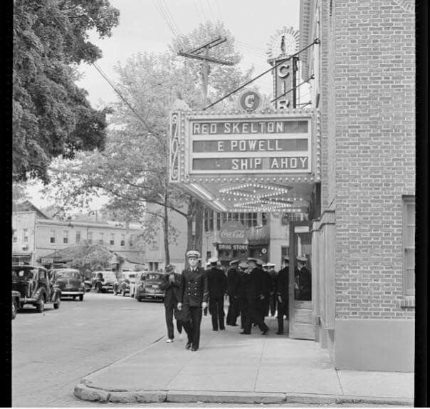 the Circle Theatre on State Circle    Annapolis, MD    circa