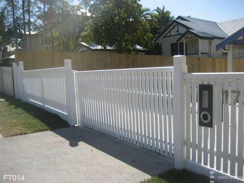 Picket Fences Brisbane Front Yard Fence Picket Fence Gate Fence Design