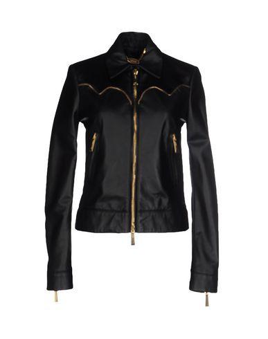 JUST CAVALLI Jacket. #justcavalli #cloth #dress #top #skirt #pant #coat #jacket #jecket #beachwear #