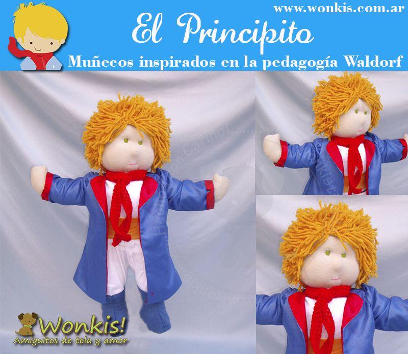 el principito_munecos Waldorf