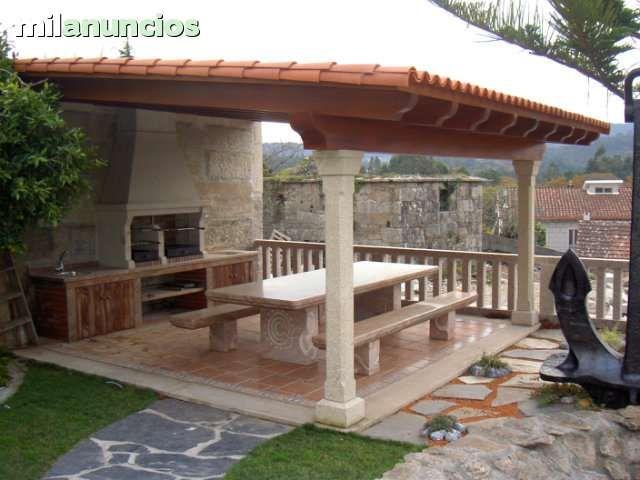Mil anuncios com barbacoas piedra casa y jard n - Barbacoas para terrazas ...
