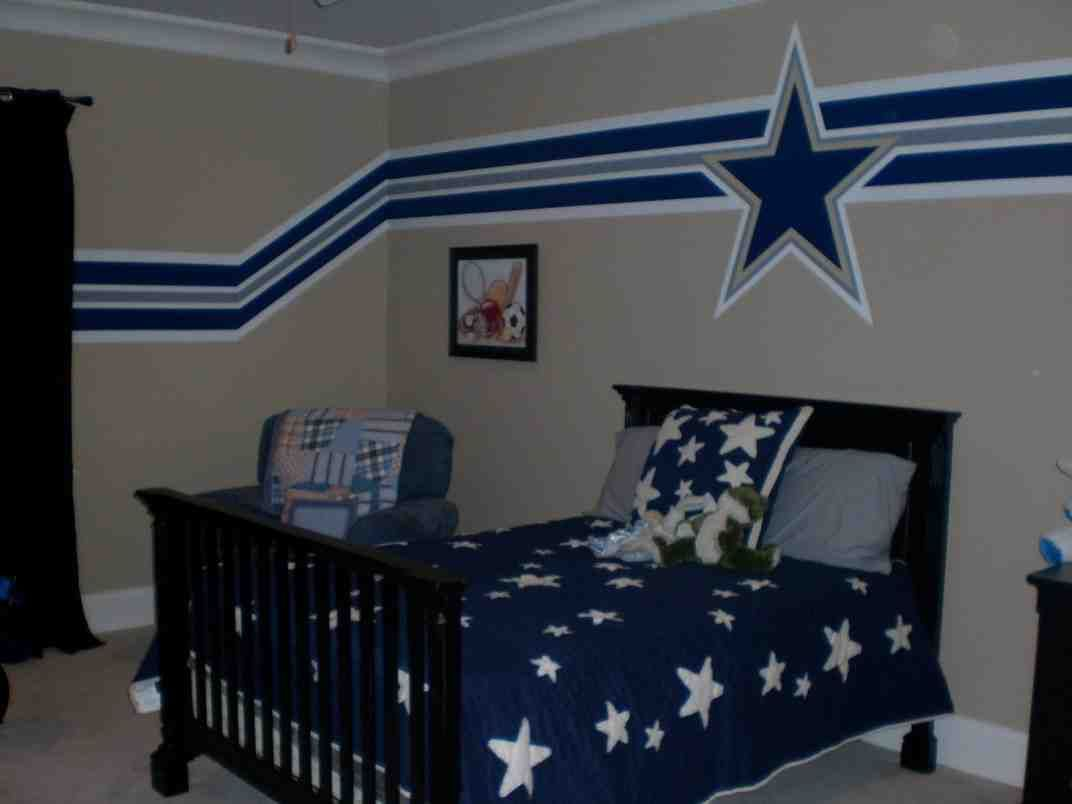 Dallas Cowboys Room Decorations Boy