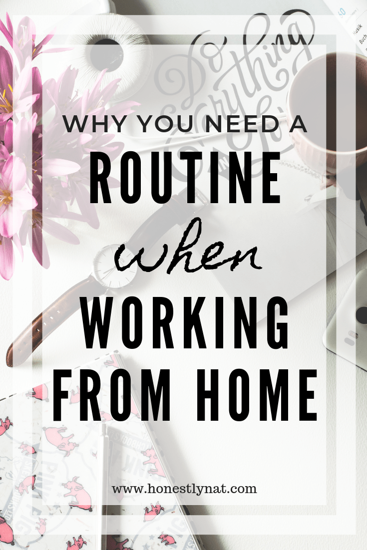 Why You Need a Work from Home Routine