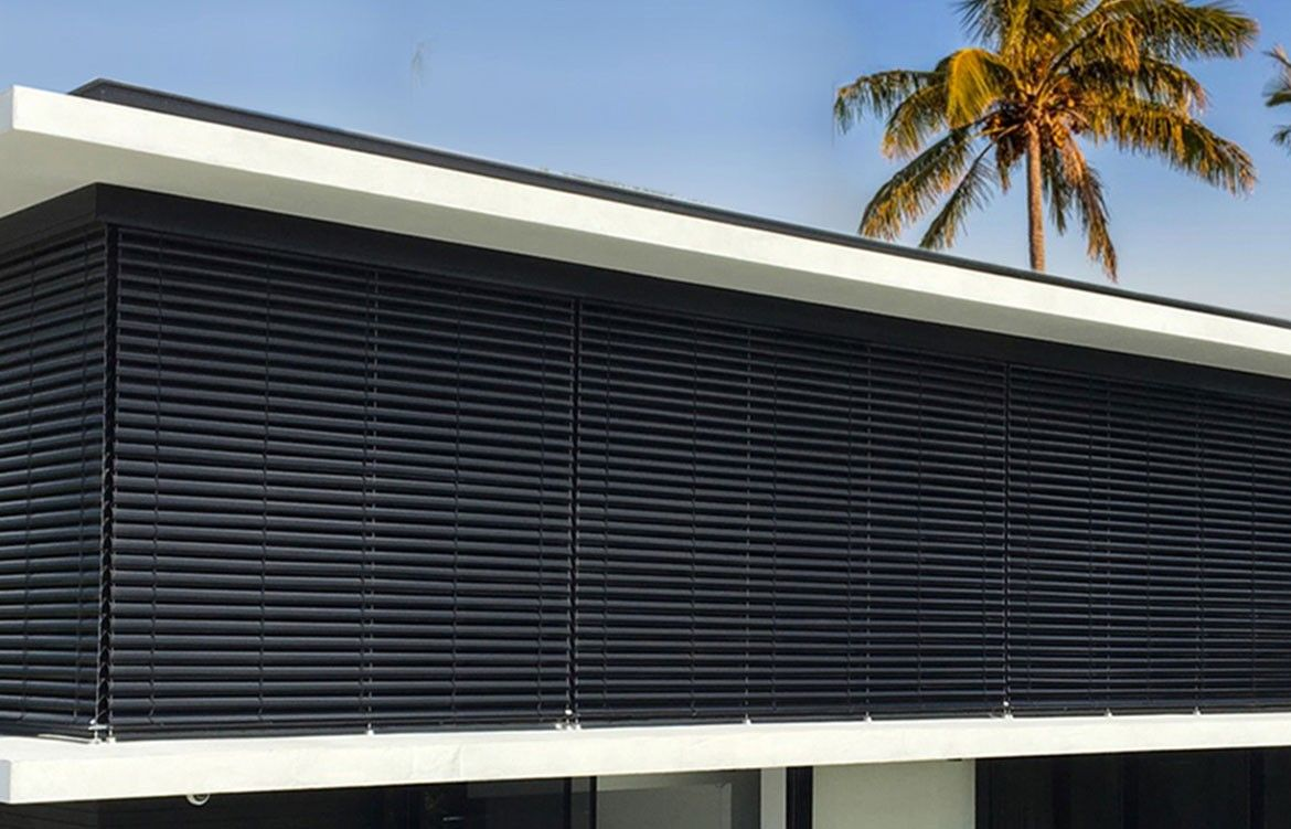 External Shading Systems Turnerarc Indesignlive Collection Shading System Exterior Blinds Window Coverings