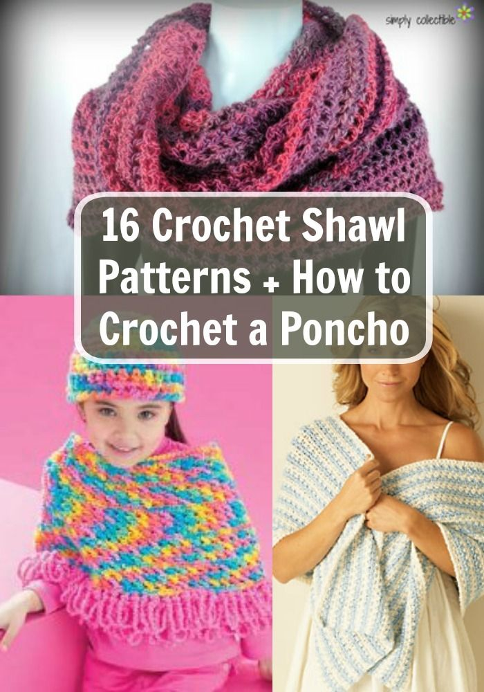 37 Free Crochet Poncho Patterns and Capelets | My hobbies ...