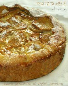 Torta di mele al latte, ricetta, cucina preDiletta