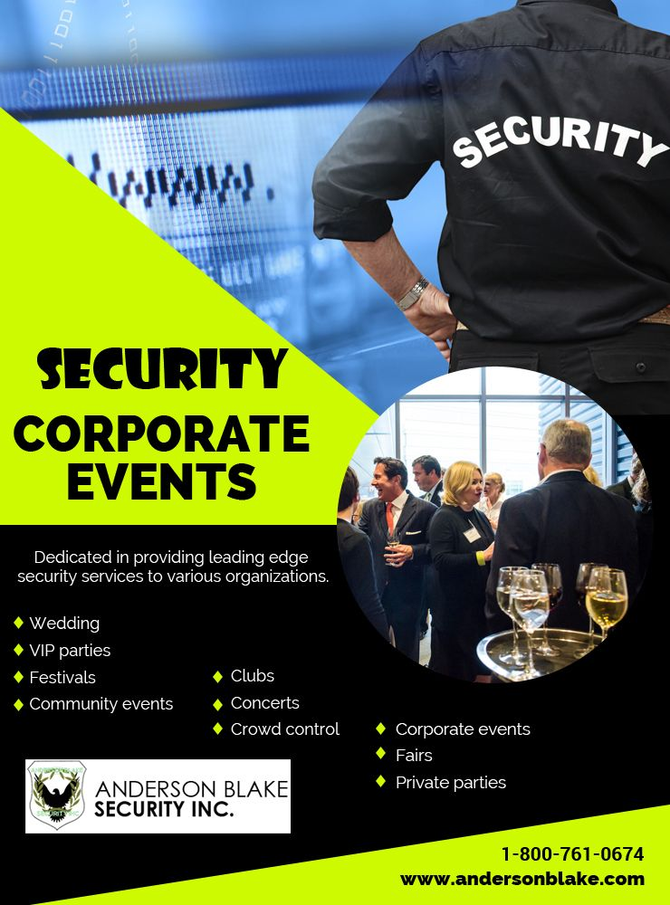 We have licensed security guards for biggest Event