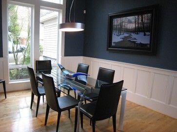 Van Deusen Blue Benjamin Moore Dining Room Blue Dark