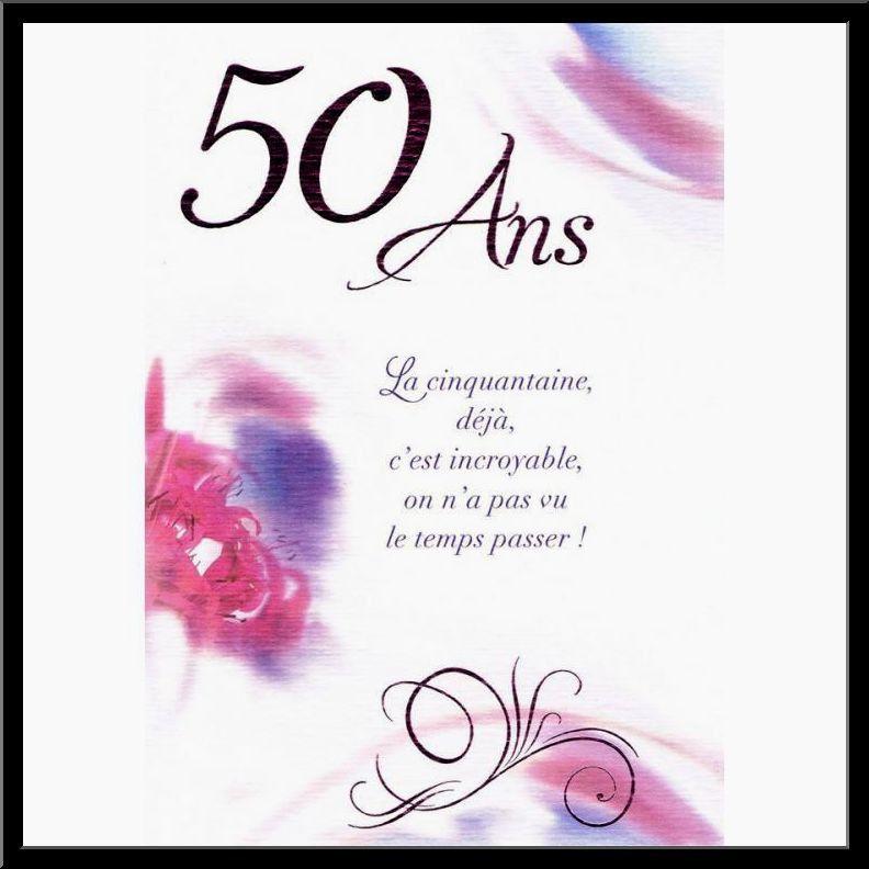 Carte Anniversaire 50 Ans De Mariage Texte 2les Meilleures