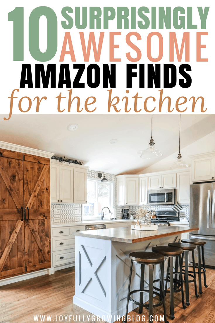 10 Awesome Amazon Finds To Upgrade Your Kitchen On A Budget Budget Kitchen Remodel Budget Kitchen Makeover Kitchen Decor Inspiration