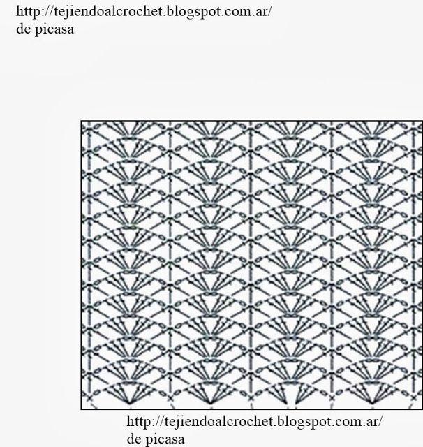 PATRONES - CROCHET - GANCHILLO - GRAFICOS: septiembre 2013 | stitch ...