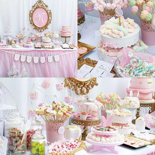 Mesa dulce bautizo ni a comunion - Mesas dulces para ninas ...