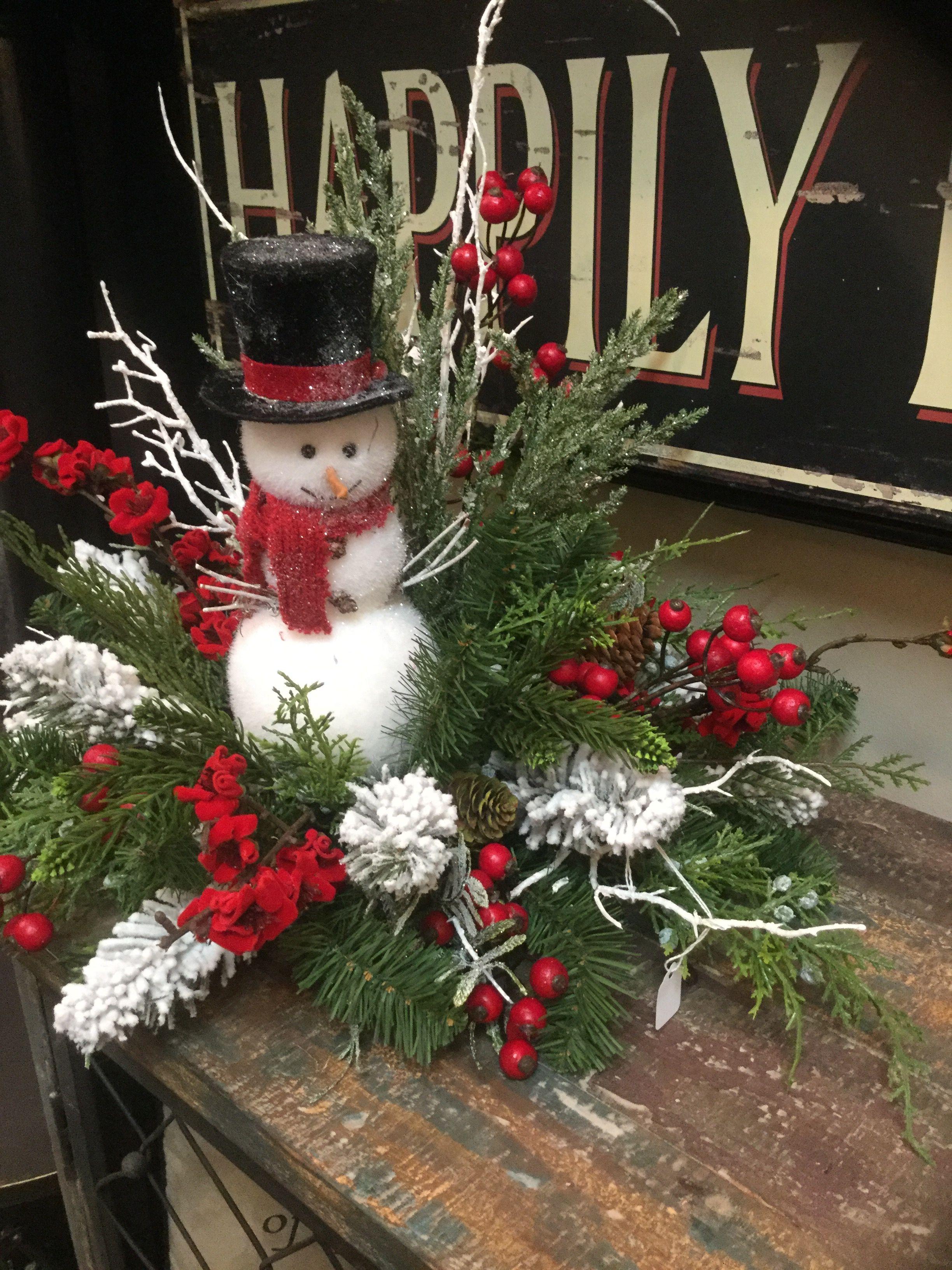 Centros de mesa para navidad y a o nuevo 2018 arregl - Centro de mesa navideno ...
