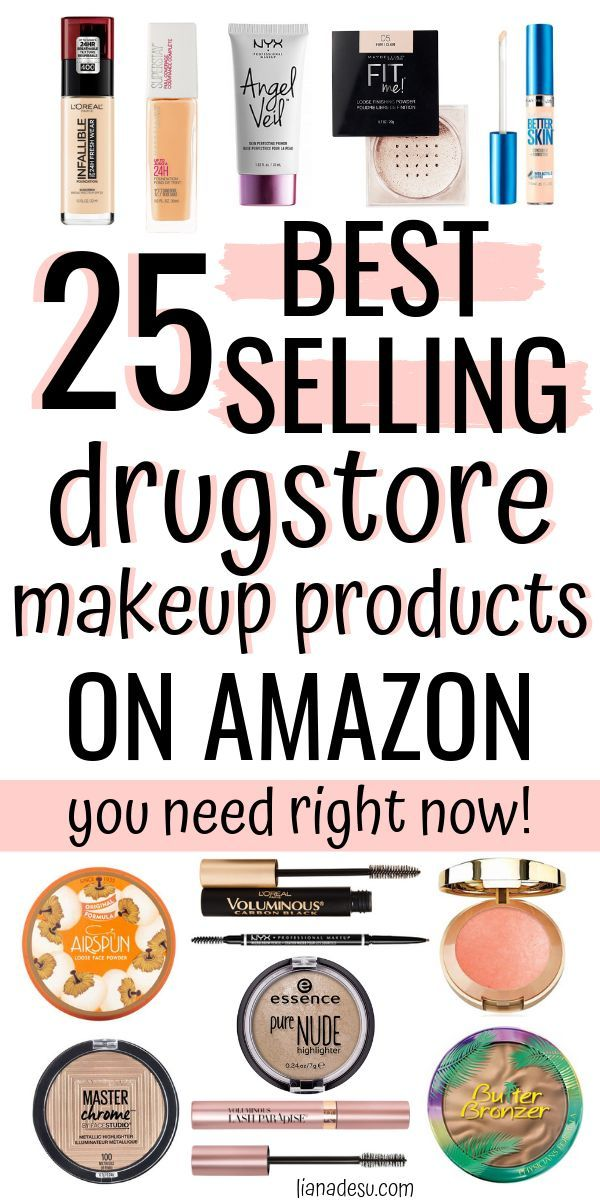 25 BestSelling Drugstore Makeup Products on Amazon (to