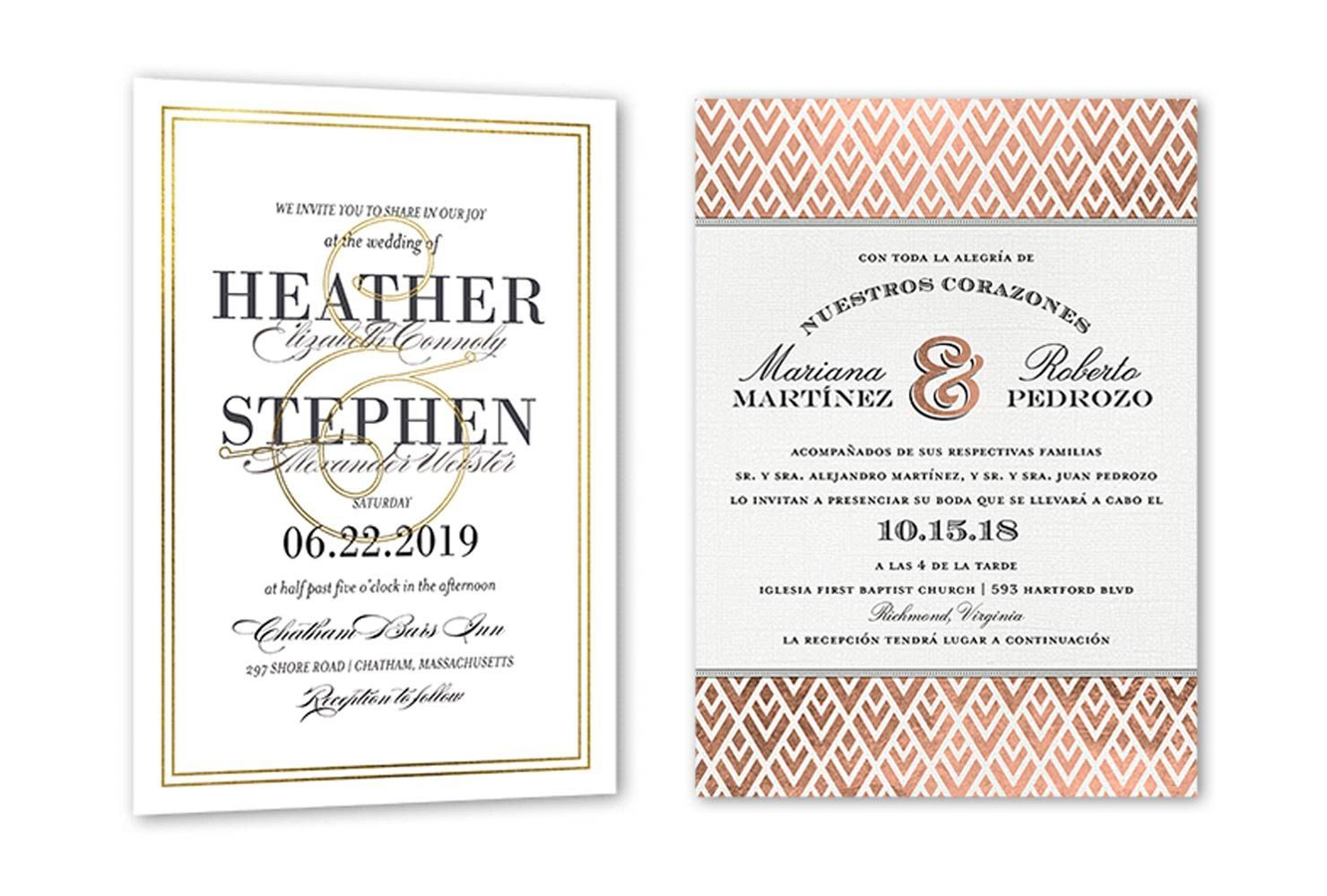 The Outstanding 35 Wedding Invitation Wording Examples 2020 Shutterfly With R Wedding Invitation Text Wedding Invitation Message Wedding Invitation Format