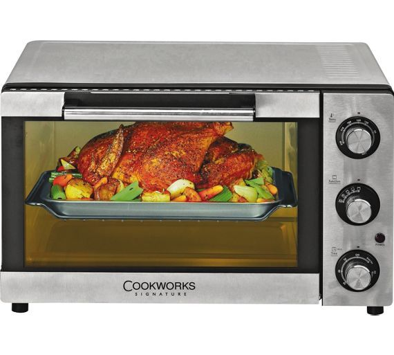 buy cookworks mini oven   stainless steel at argos co uk   your online  mini ovenssmall kitchen appliancessmall     buy cookworks mini oven   stainless steel at argos co uk   your      rh   pinterest co uk