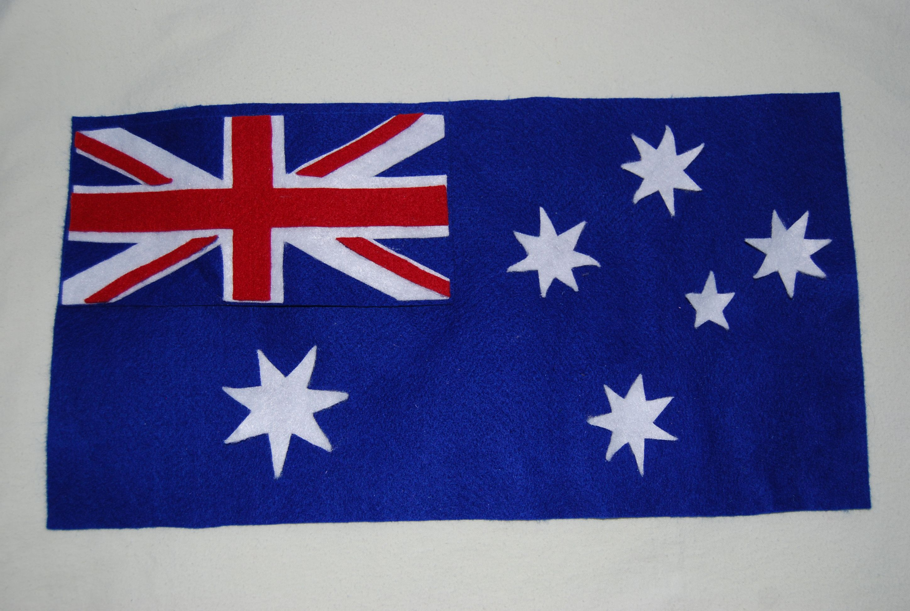 This Australian Flag Set Has Been Hand Made Using Quality